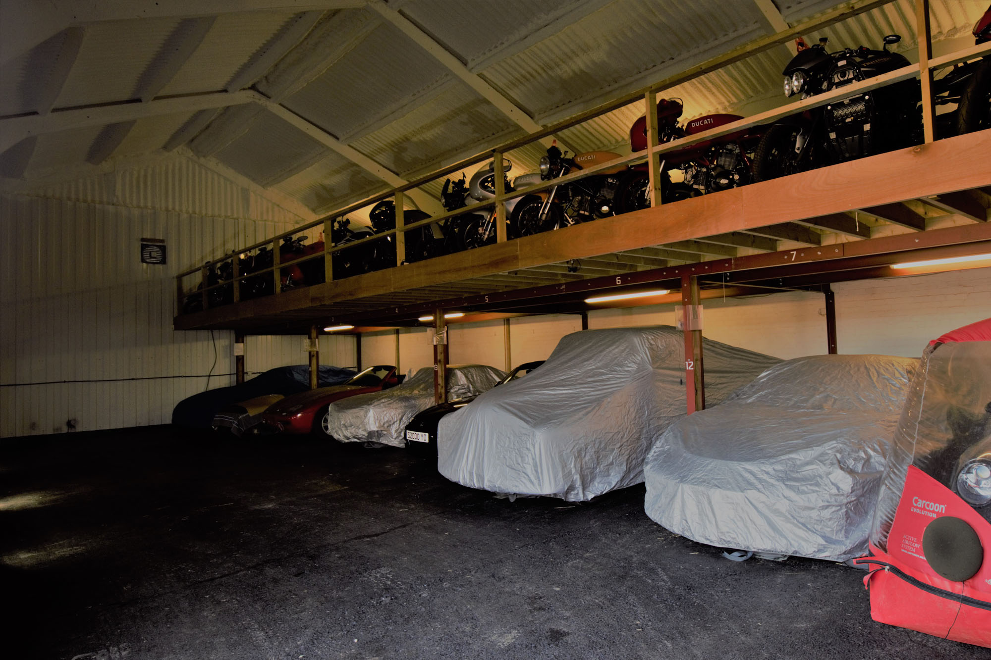 London S Only Dedicated Motorcycle Storage Facility